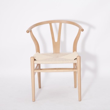 Europe style for for Ashwood Dining Chair Replica Hans Wegner CH24 wishbone chair export to Indonesia Exporter
