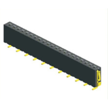 1.27mm Pitch Female Header Single Row SMT Type