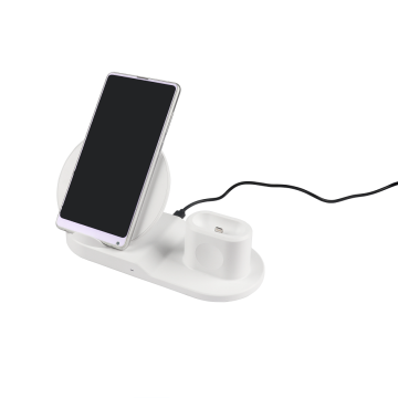 Portable Qi 3 in 1 Wireless Charger Station