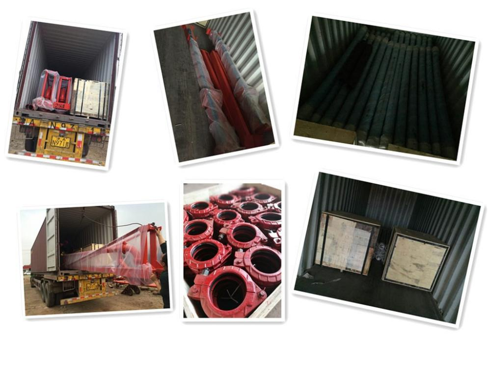 Sany Orginal Clamp Coupling Loading