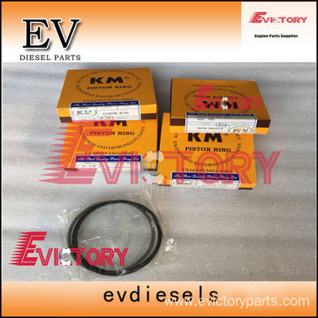 ISUZU engine parts piston 4JG1 piston ring
