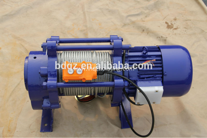 KCD Multifunctional Electric Motor Winch