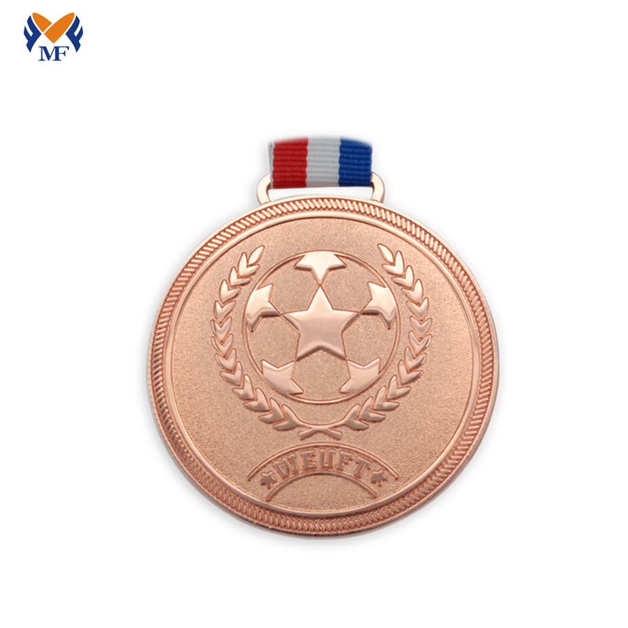 Football Copper Medal