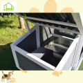 Eco-friendly outdoor wood chicken coops
