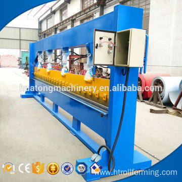 New technology roofing sheet magnetic bending machine 2mm