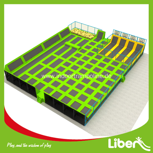 Large Used Trampoline Park for Children