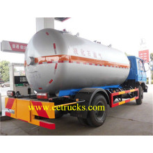 Fast Delivery for Dongfeng LPG Transport Trucks 15 CBM LHD RHD LPG Road Tankers export to Afghanistan Suppliers