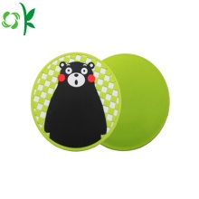 Silicone Placemat Round Cute Anti-slip Cup Mat