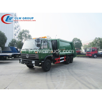 Exporter vers le Kenya Dongfeng 16cbm Green Waste Truck