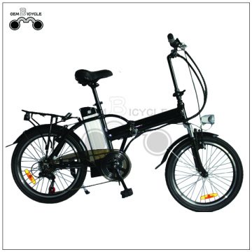 20 inch aluminium alloy folding electric bicycle