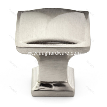 Zinc Alloy Traditional Square Cabinet Hardware Knob