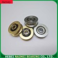 Jendela blinds pulley U alur track bearing
