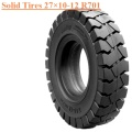 Industrial Field Running Vehicles Solid Tire 27×10-12 R701