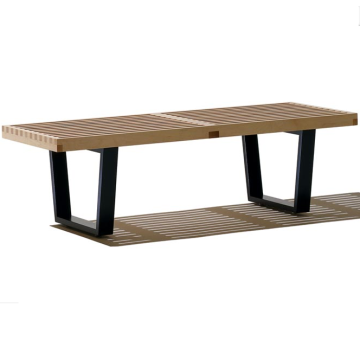 Good Quality for Leather Bench Mid Century George Nelson Style Platform Bench export to India Suppliers