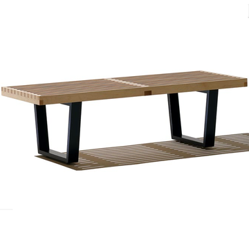 OEM Supplier for for Leather Bench Mid Century George Nelson Style Platform Bench export to France Suppliers