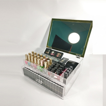 Clear Cosmetic Makeup Storage Box