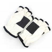 Half Finger Flip Cover Polar Fleece Gloves.
