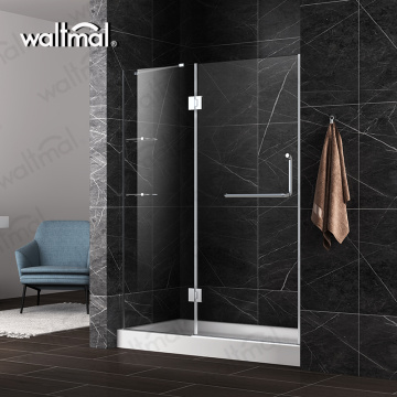 Frameless 10mm Tempered Glass Hinge Shower Door