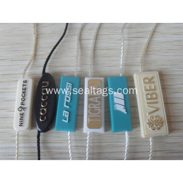 Small price tags with string
