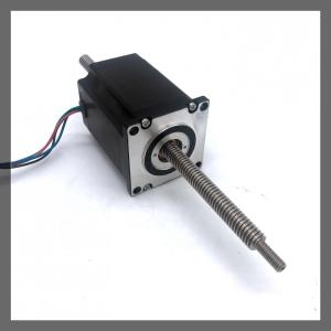 NEMA23/57mm linear stepper motor(1.8°) through shaft type