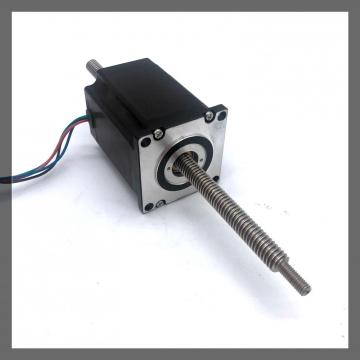 China Gold Supplier for for Stepping Motor NEMA23/57mm linear stepper motor(1.8°) through shaft type supply to Belize Factories
