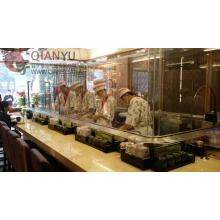 Quality Automatic Conveyor Belt  For Sushi Use