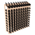 Wine Racks America Pine wood 10 Column 10 Row Display 13 Stains wine rack