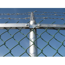 Barbed Chain Link Wire Fence Mesh