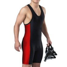 Goods high definition for for China Bodysuit Wrestling Wear, Men Sleeveless Wrestling Singlet Manufacturer and Supplier High quality men's wrestling singlet fighting jersey export to Colombia Factories