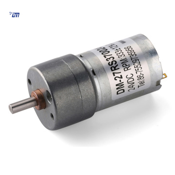 27mm dual shaft dc gear motor