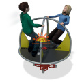 Manually Powered Playground Roundabout Equipment