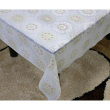 Printed pvc lace tablecloth by roll sizes