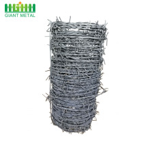 Cheap Galvanized Double Barbed Wire Price Per Roll