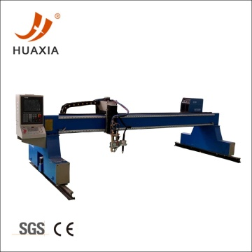 CNC gantry plasma flame metal cutting machine