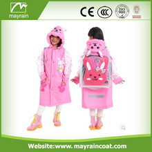 Top Quality Kid's PVC Raincoat