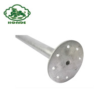 Galvanized Metal Steel Q235 Round Post Anchor