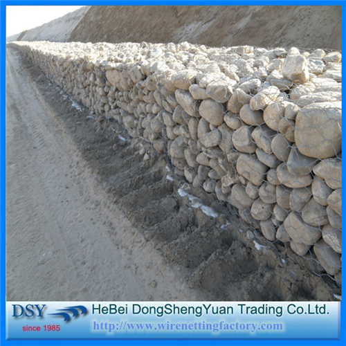 PVC Coated Hexagonal Gabion Basket