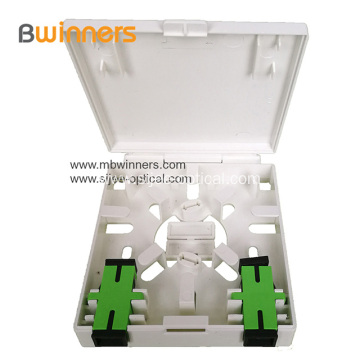 FTTH Box SC/LC Mini Fiber Optic Socket Panel Face-plate