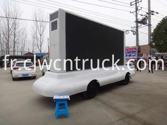 Mobile LED Advertising Trailer 1