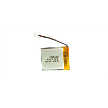 502530 rechargeable li-polymer drone battery 3.7v 300mah
