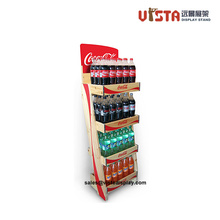 Personalized Solid Wooden Beverage Display Shelves