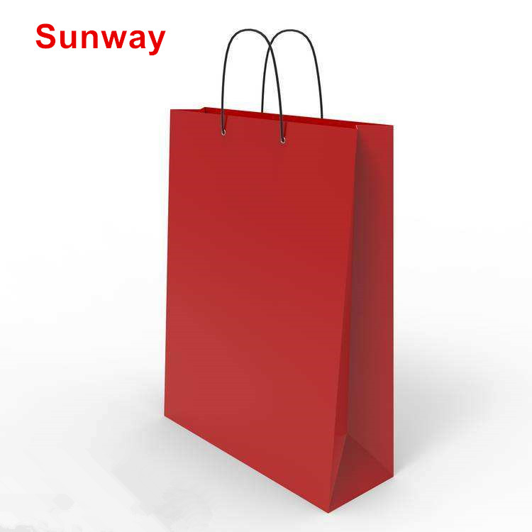 Promotional paper bags with logo