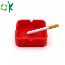 Silicone Eco-friendly Custom Square Cigar Ashtray