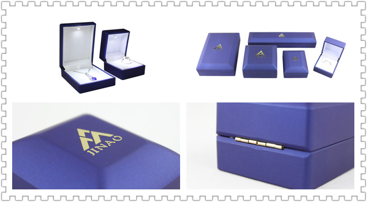 Wholesale vintage LED light jewelry box