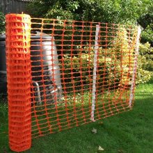 High Strength Orange Warning Plastic Fence