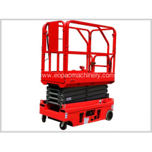Best Price for for Scissor Lift Mini Self-propelled Mobile Scissor Electric Hydraulic supply to San Marino Manufacturers