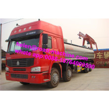 Oil Storage Tanker 8x4 Trucks For Fuel Transportation