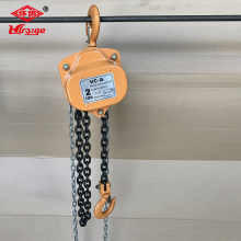 China for HS-VT Series Chain Hoist Hand Chain blocks 1 ton chain hoist supply to Jordan Wholesale