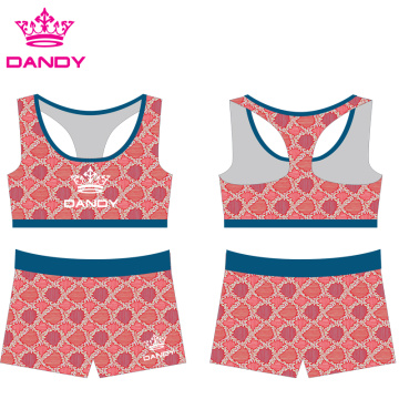 Personlized Products for Custom Sportswear cheap sublimated kids cheerleading practice wears export to Qatar Exporter