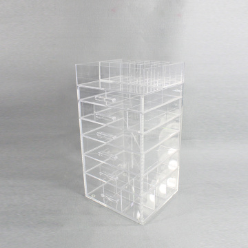 Clear Acrylic Beauty Organisers